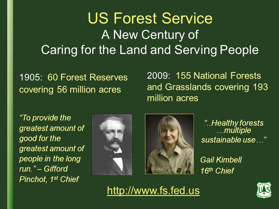 ..Healthy forests …multiple sustainable use…