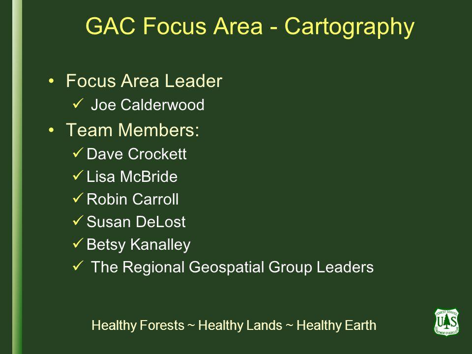 GAC Focus Area - Cartography