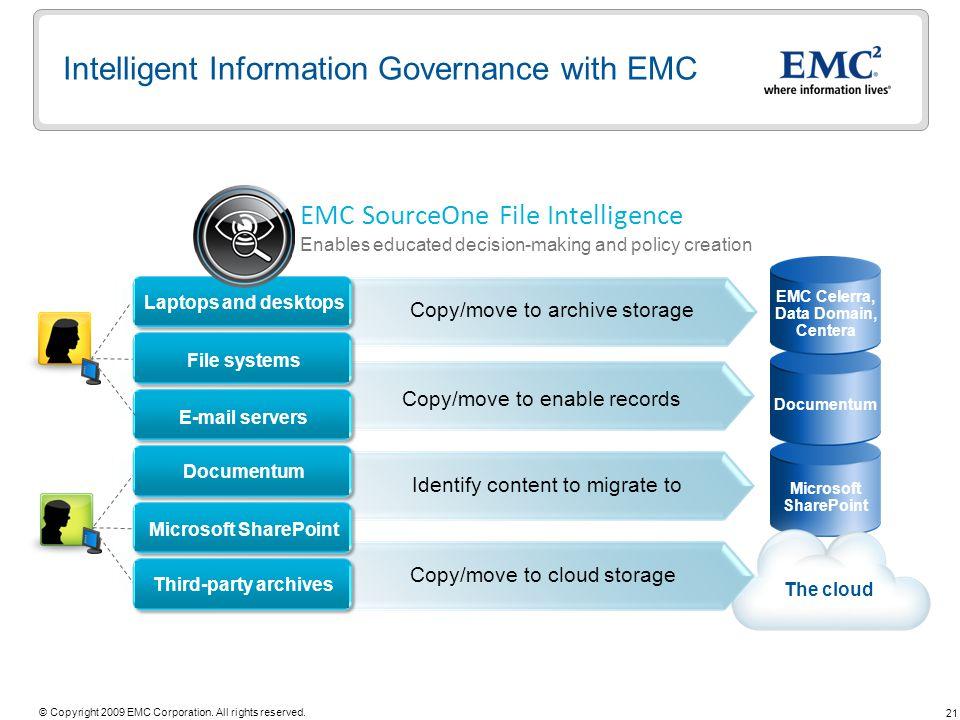 Intelligent Information Governance with EMC