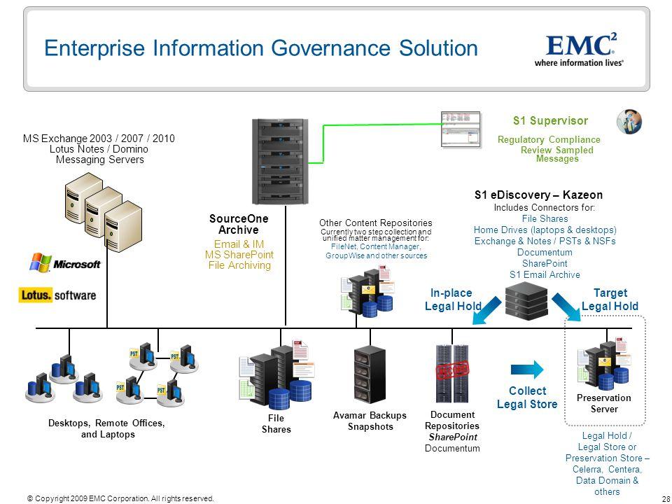 Enterprise Information Governance Solution