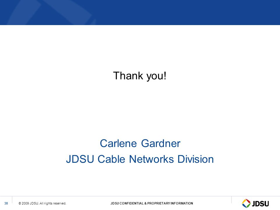 JDSU Cable Networks Division