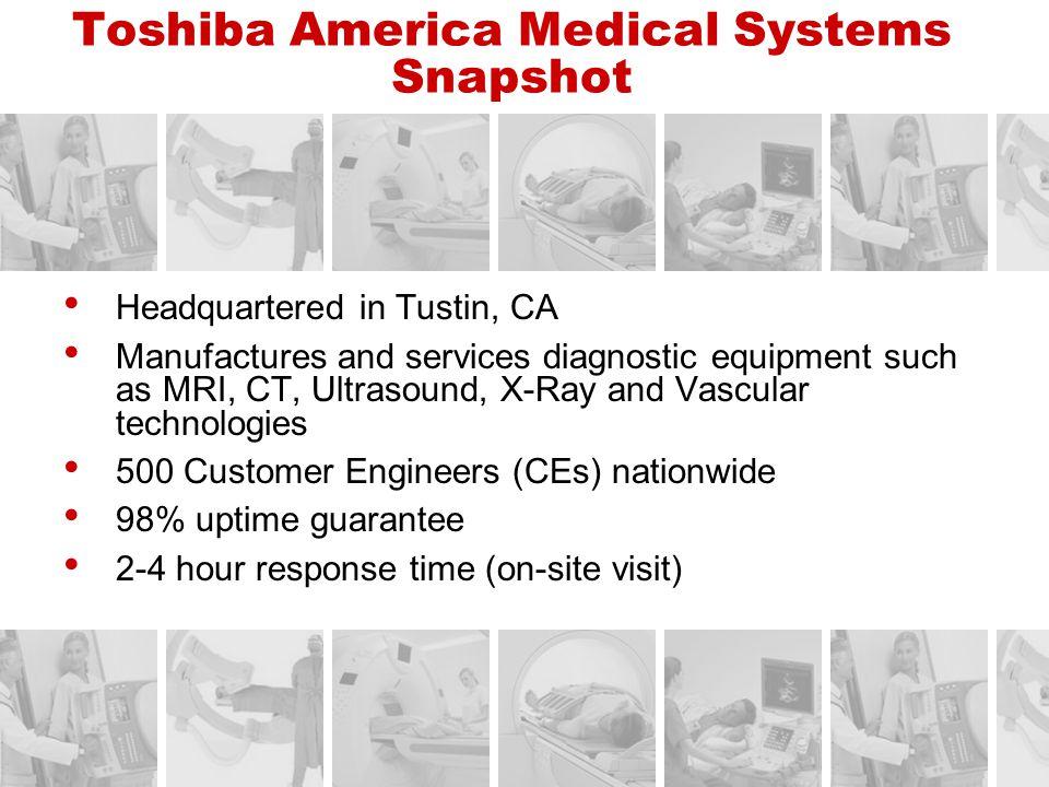 Toshiba America Medical Systems Snapshot