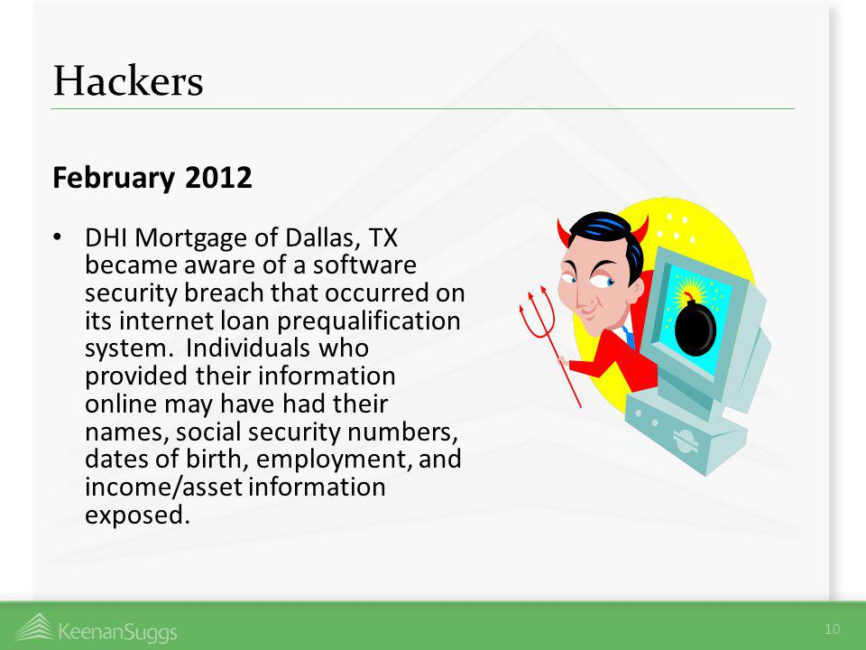 Hackers February 2012.