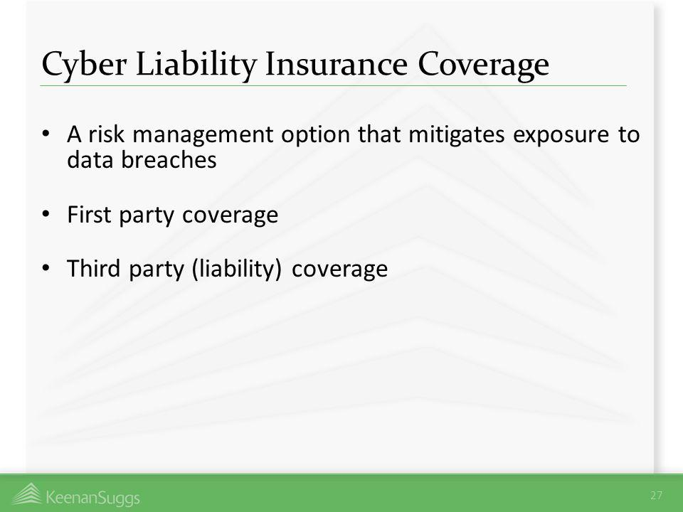 Cyber Liability Insurance Coverage