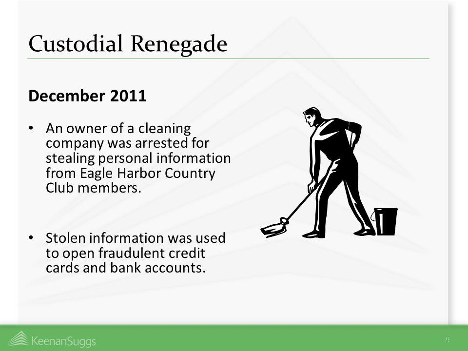 Custodial Renegade December 2011