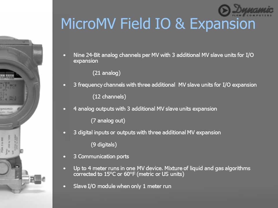 MicroMV Field IO & Expansion
