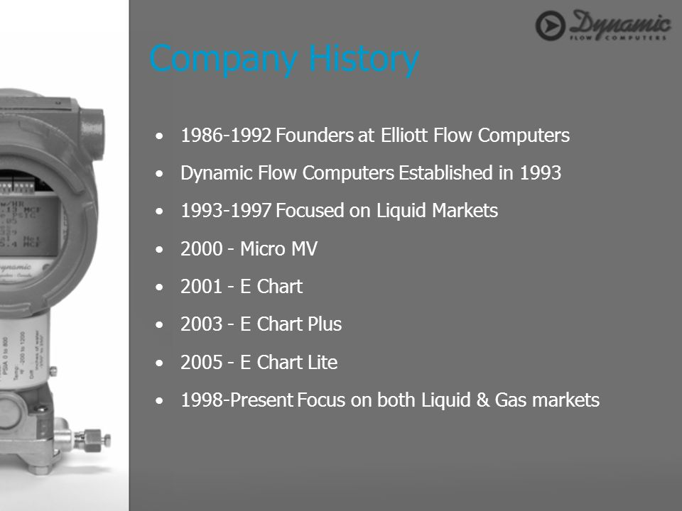 Company History 1986-1992 Founders at Elliott Flow Computers