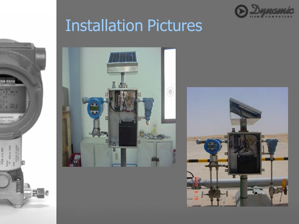 Installation Pictures
