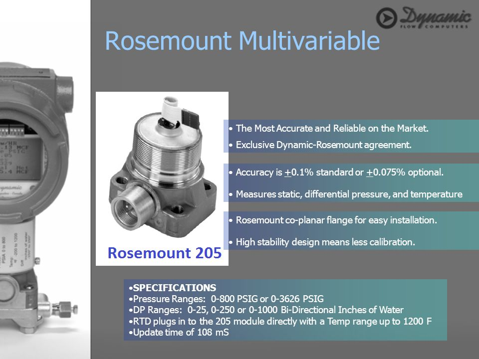 Rosemount Multivariable