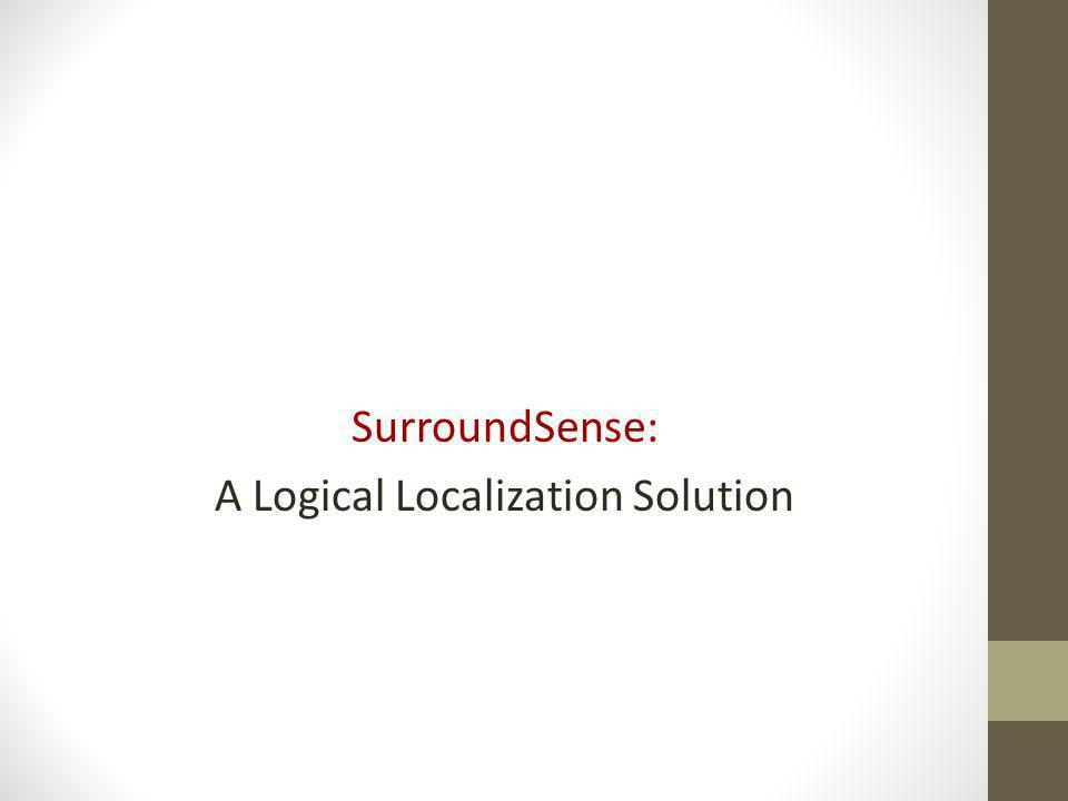 A Logical Localization Solution
