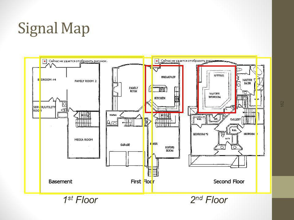 Signal Map 1st Floor 2nd Floor