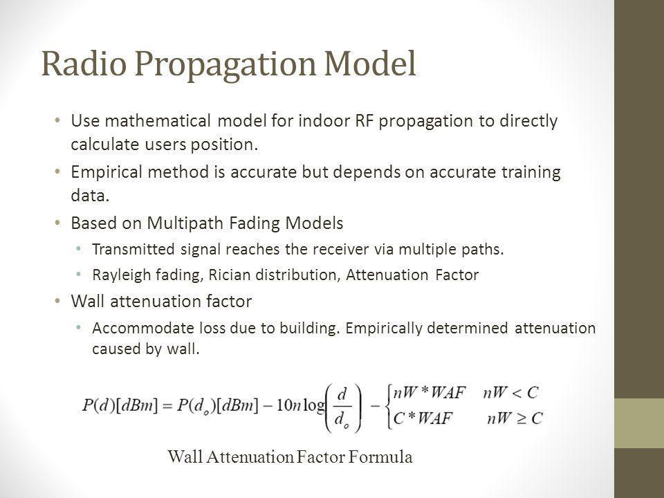 Radio Propagation Model