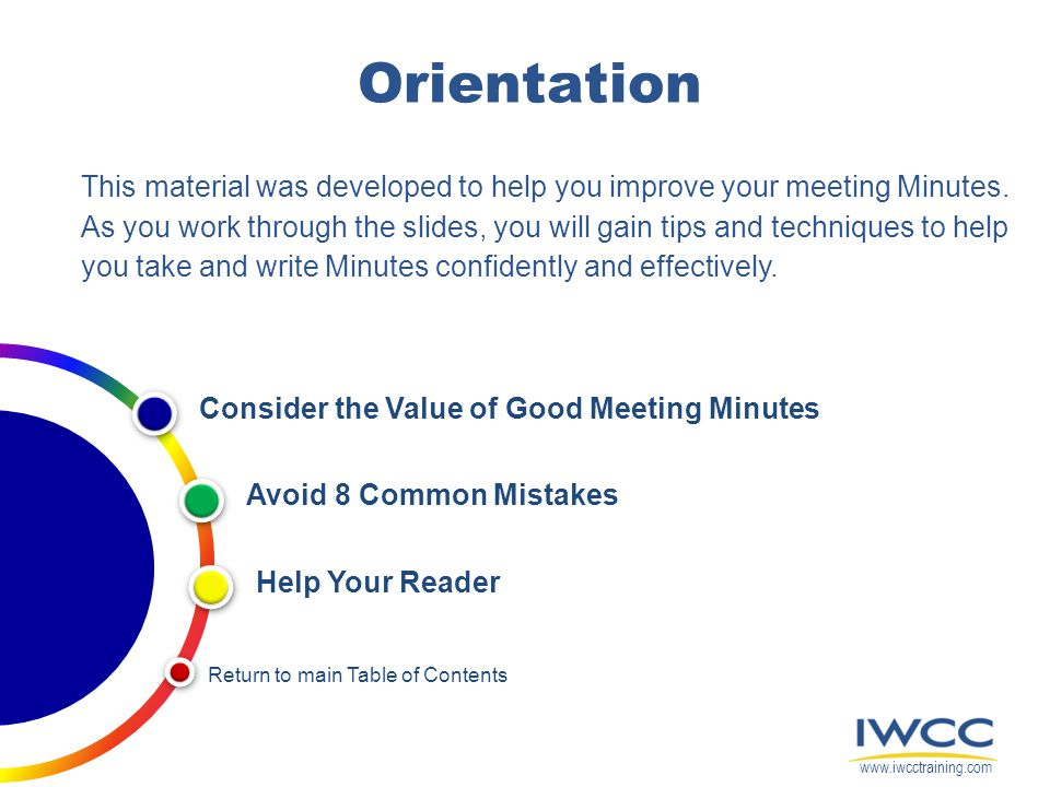 Tips  Techniques For Writing Meeting Minutes  Ppt Video Online