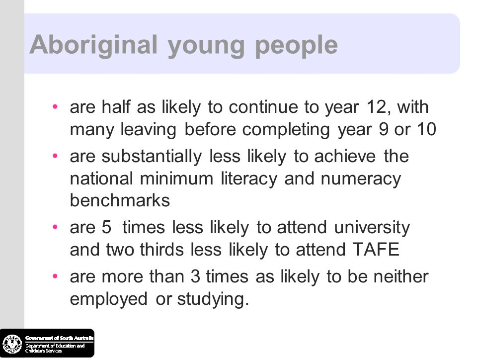 Aboriginal young people