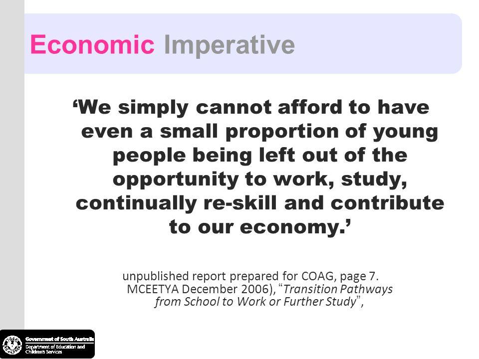Economic Imperative