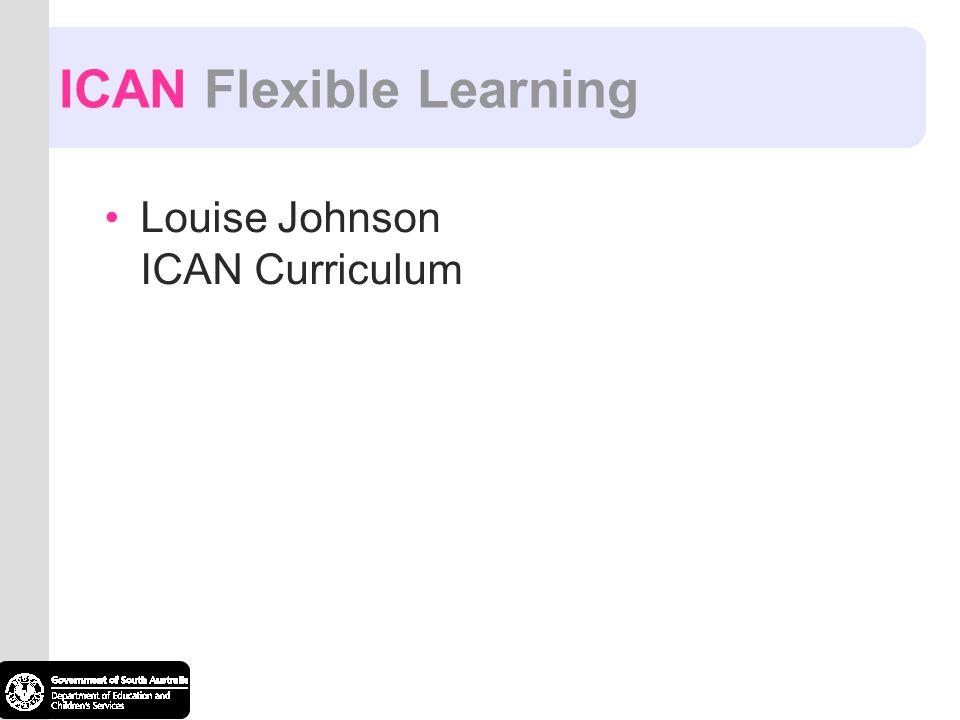 ICAN Flexible Learning