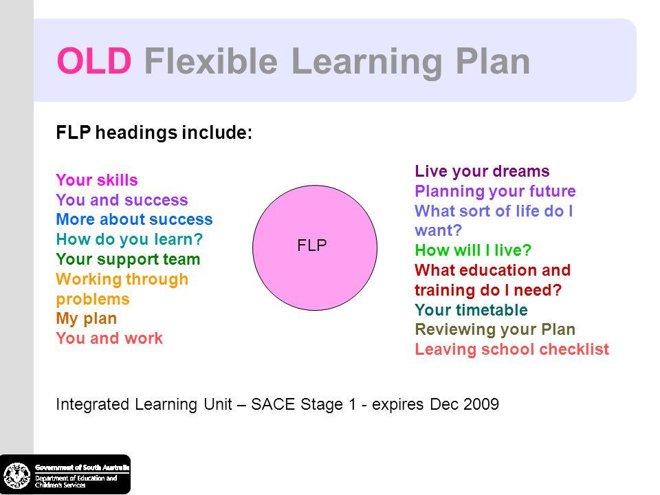 OLD Flexible Learning Plan