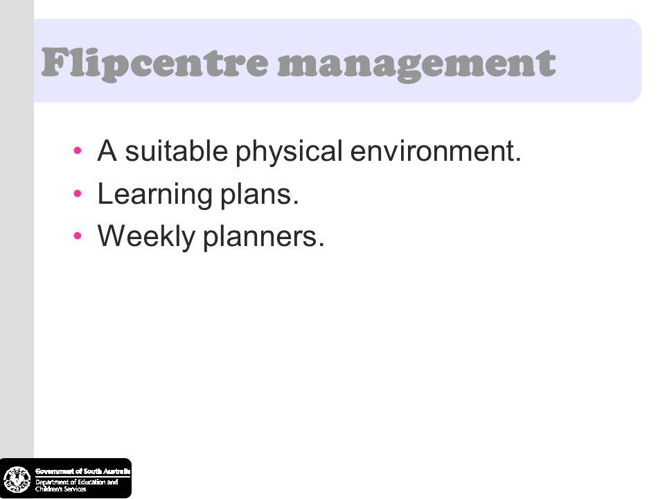 Flipcentre management