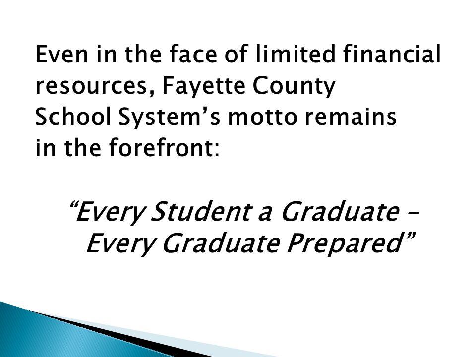 Every Student a Graduate – Every Graduate Prepared