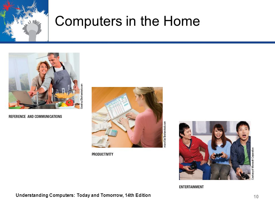 Computers in the Home Understanding Computers: Today and Tomorrow, 14th Edition
