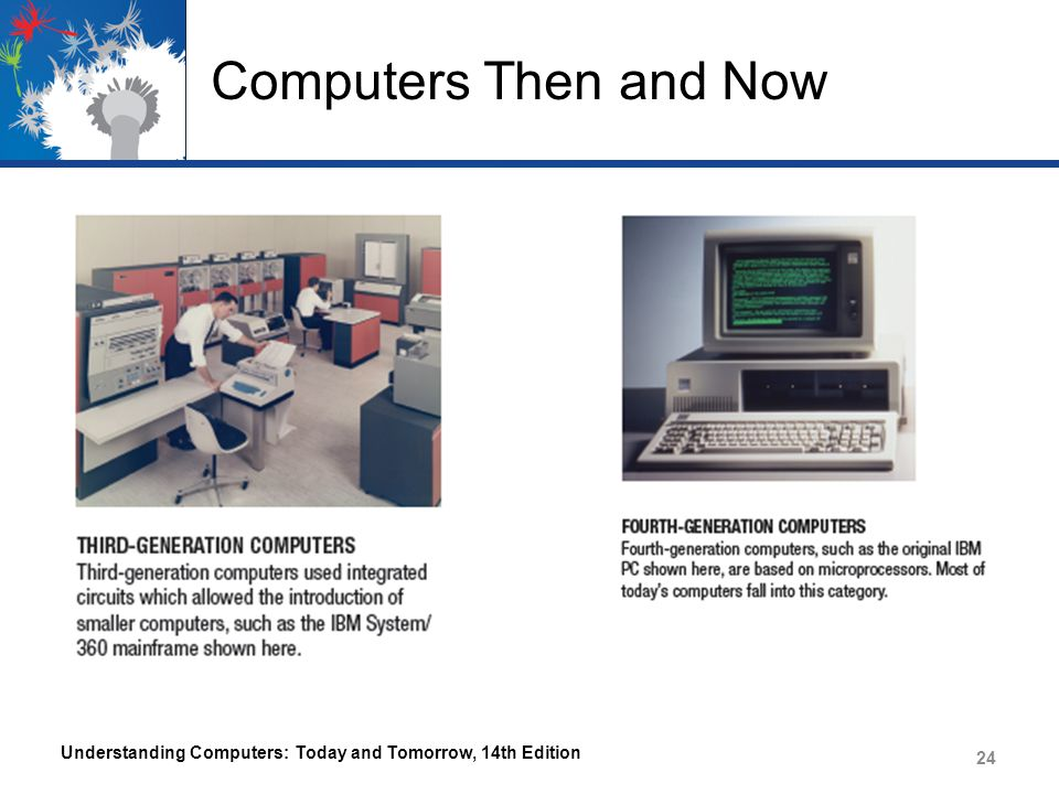 Computers Then and Now Understanding Computers: Today and Tomorrow, 14th Edition