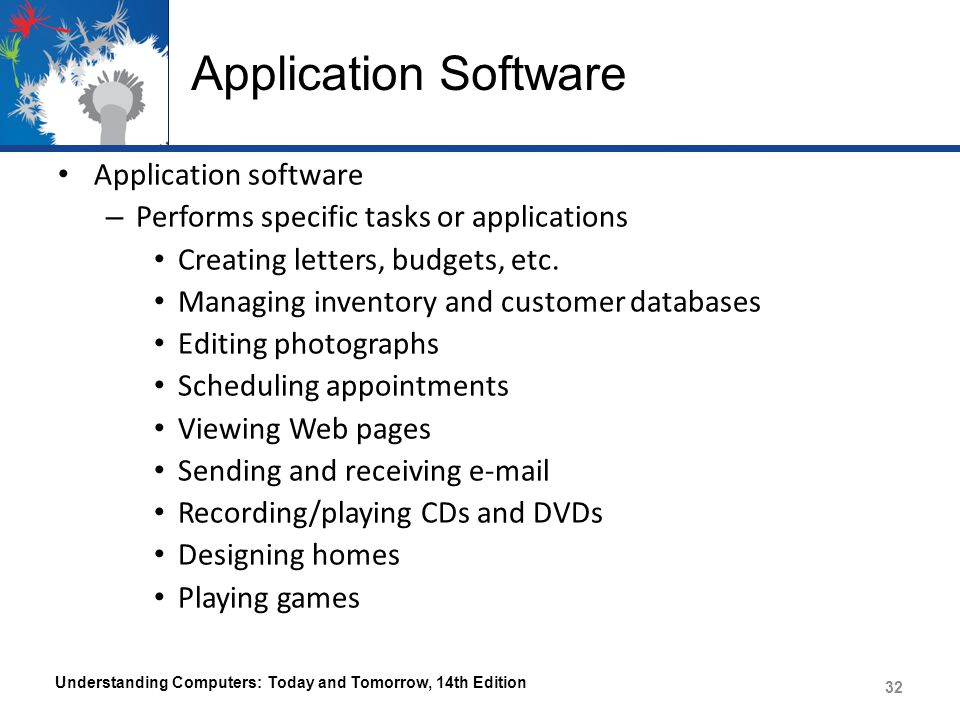 Application Software Application software