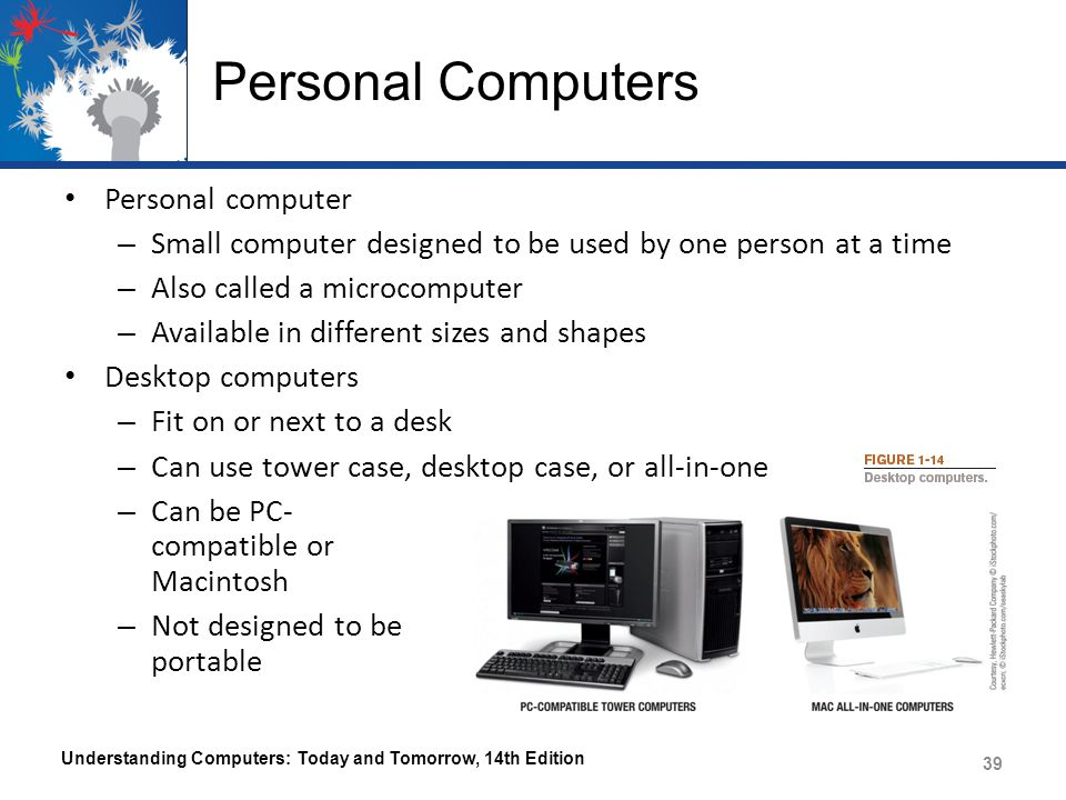 Personal Computers Personal computer