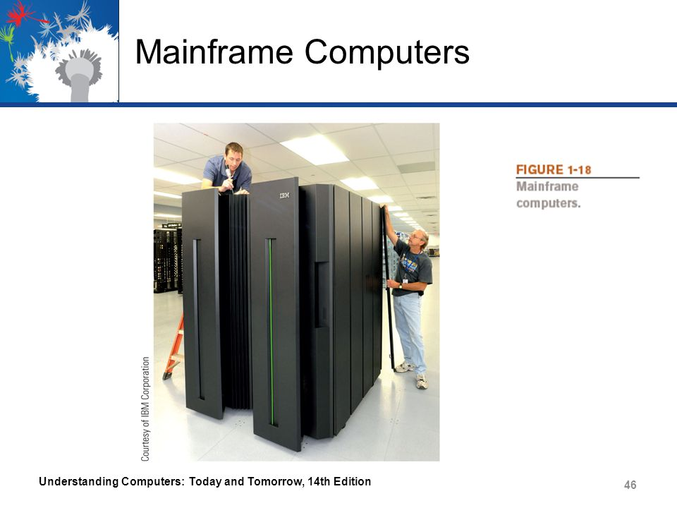 Mainframe Computers Understanding Computers: Today and Tomorrow, 14th Edition