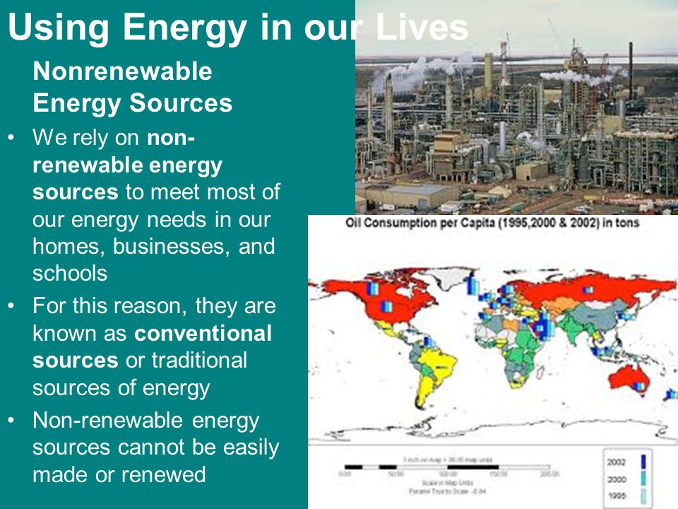 Using Energy in our Lives
