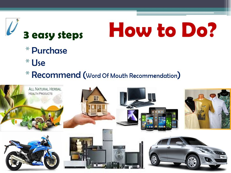 How to Do 3 easy steps Purchase Use