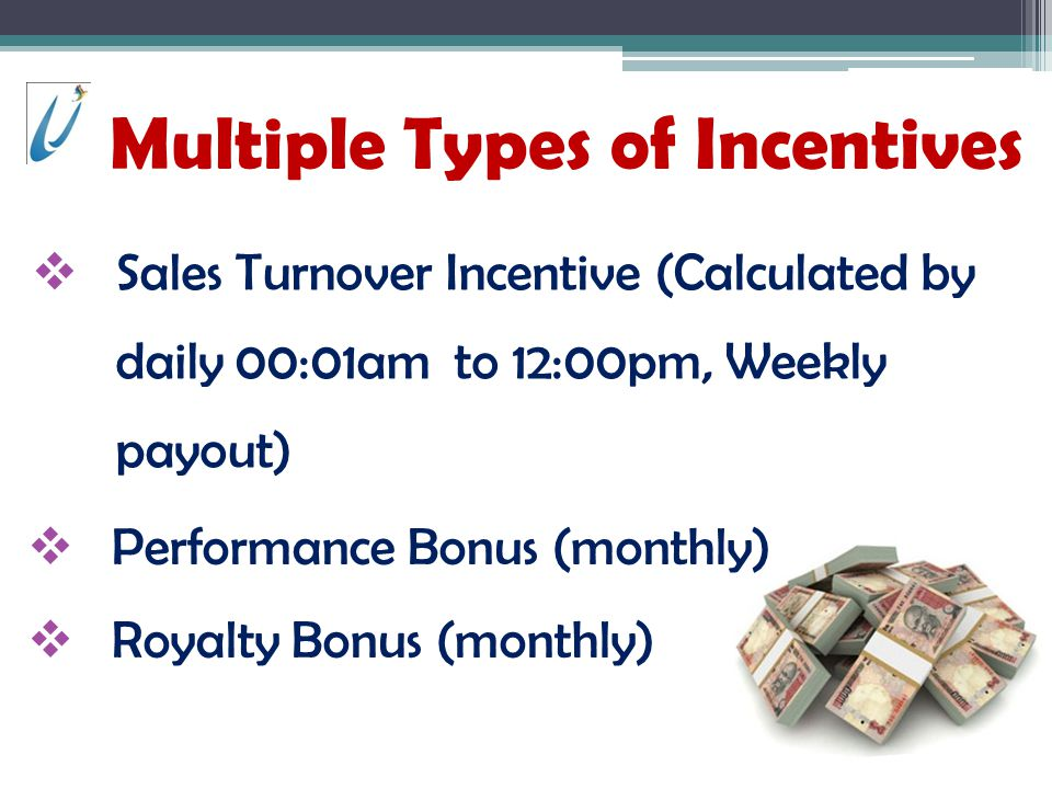 Multiple Types of Incentives
