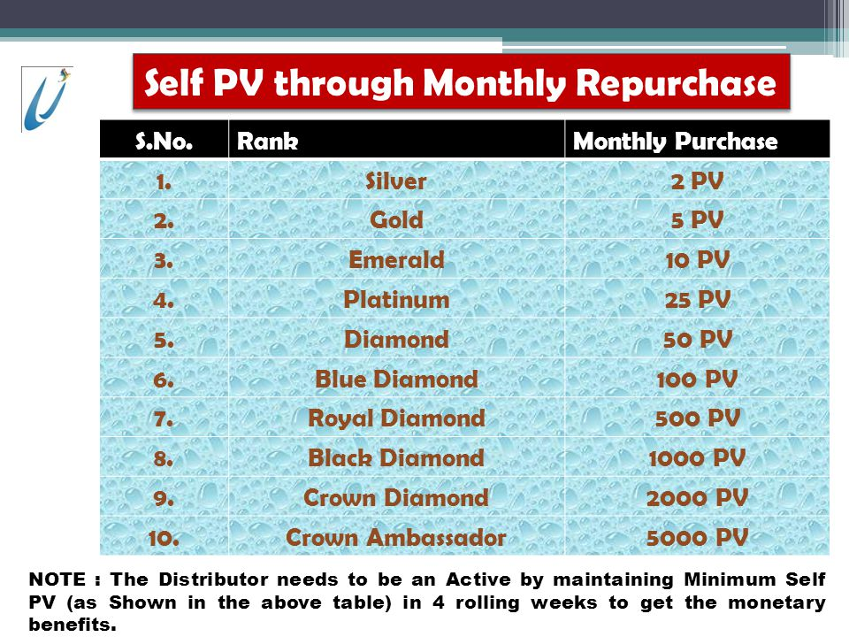 Self PV through Monthly Repurchase