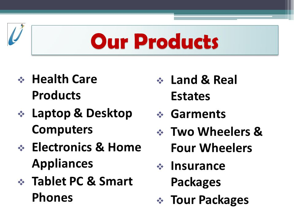 Our Products Health Care Products Land & Real Estates