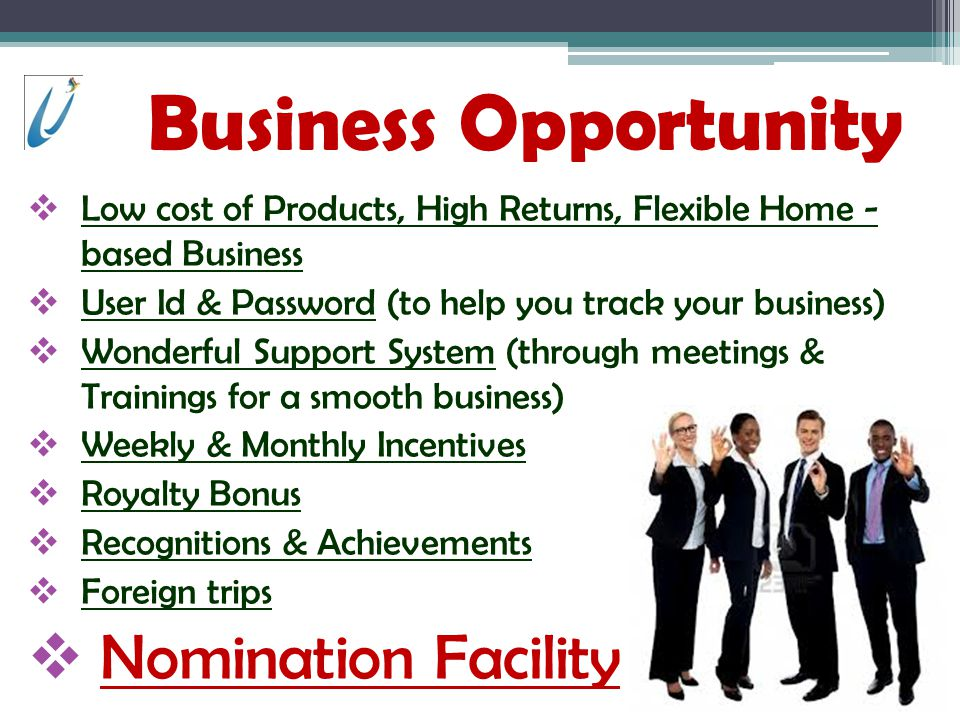 Business Opportunity Nomination Facility