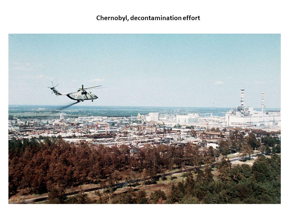 Chernobyl, decontamination effort