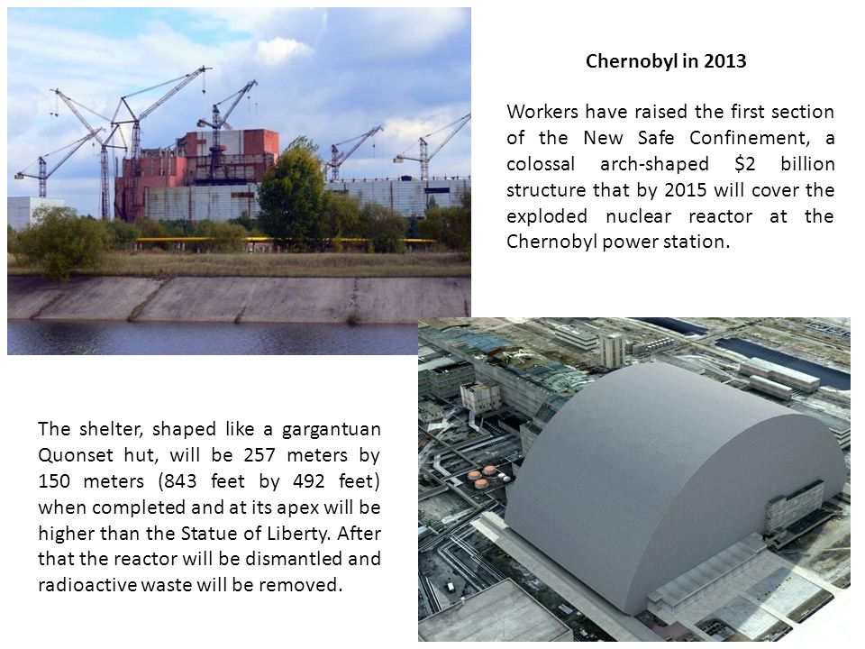 Chernobyl in 2013