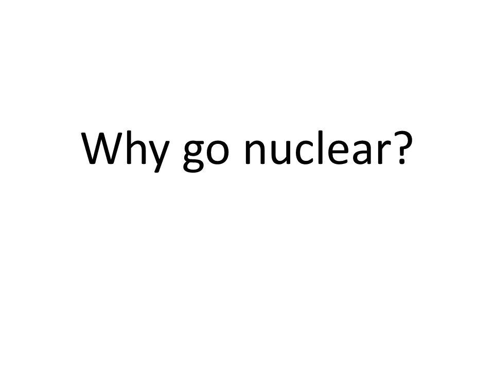 Why go nuclear