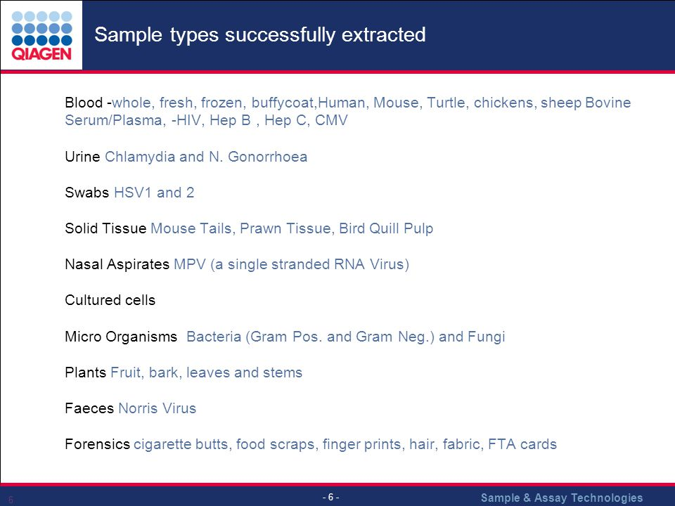 Sample types successfully extracted