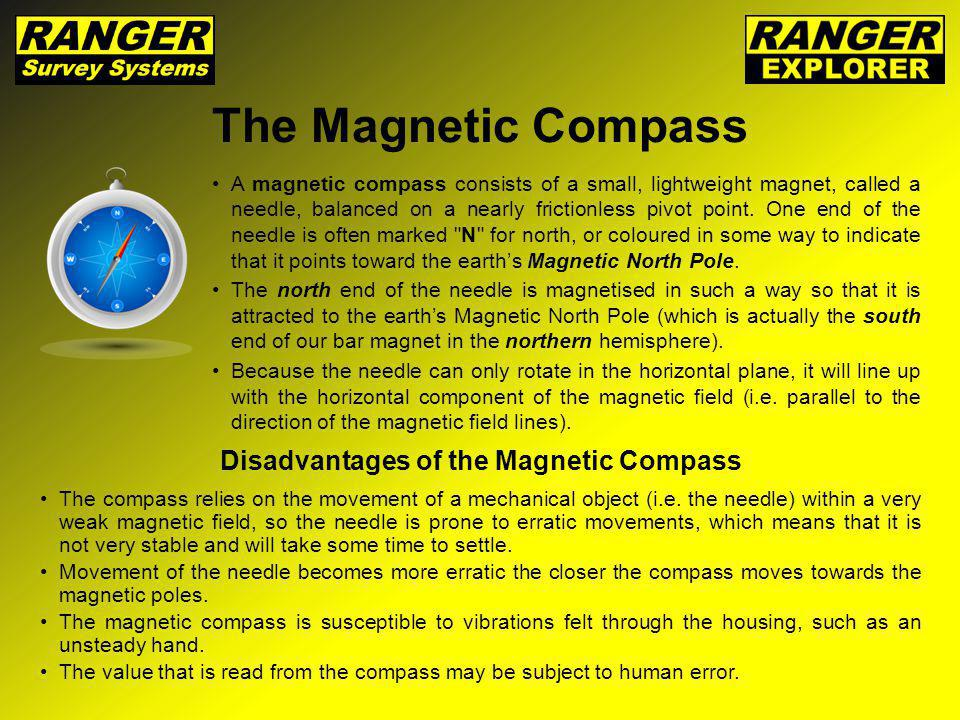 Disadvantages of the Magnetic Compass