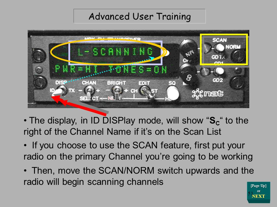 Advanced User Training