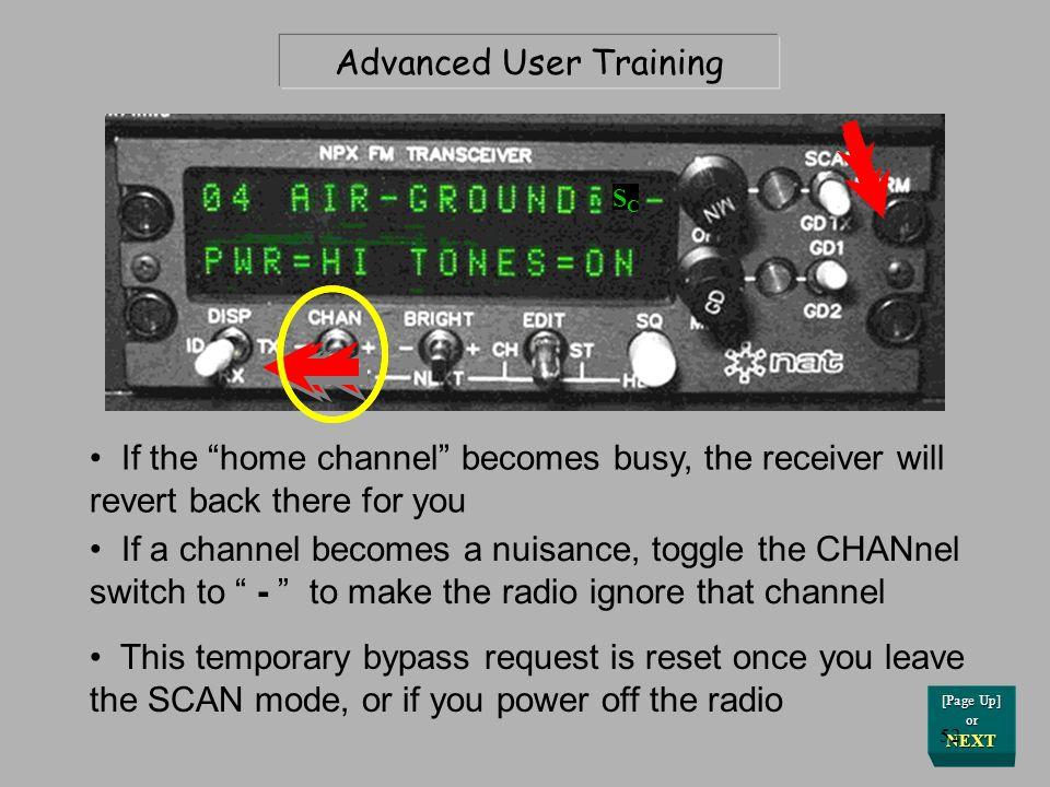 Advanced User Training