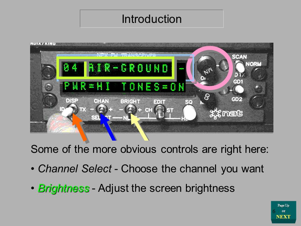 Introduction Some of the more obvious controls are right here: