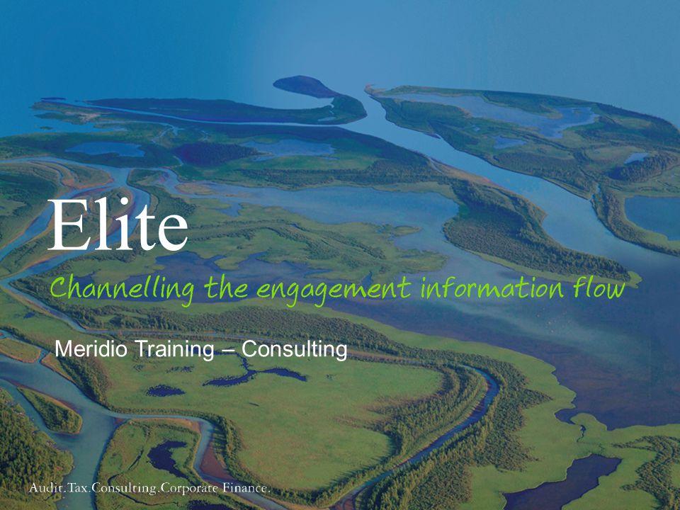 Elite Meridio Training – Consulting Trainer:
