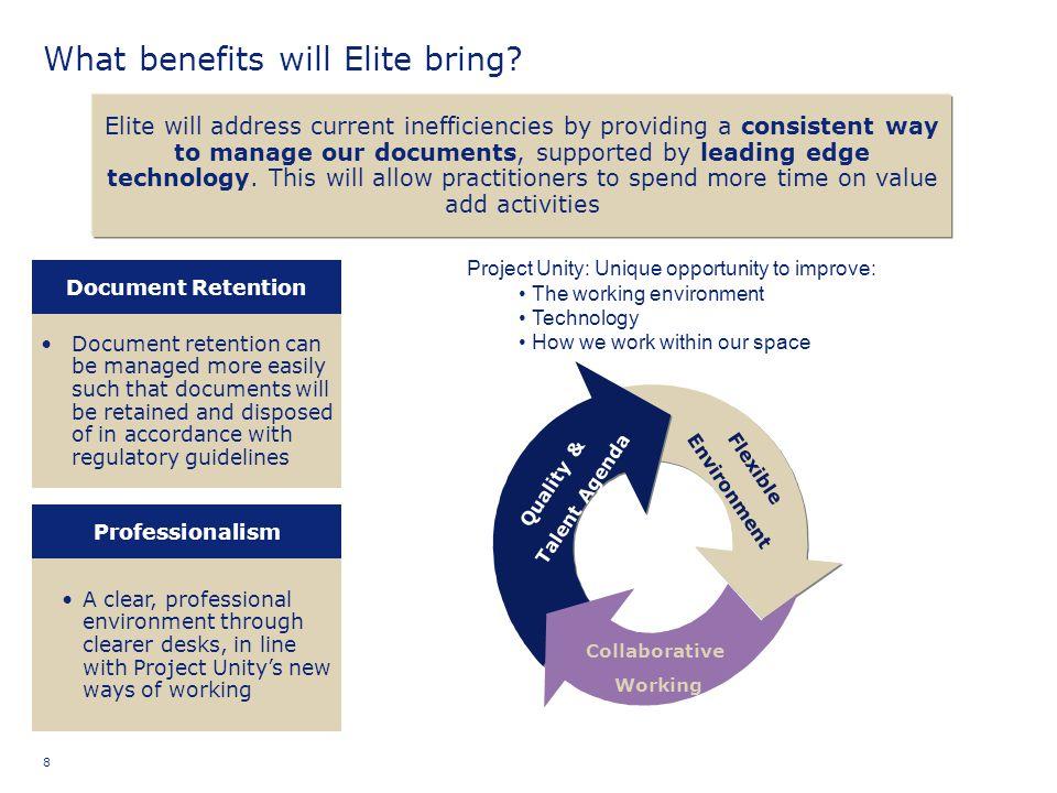 What benefits will Elite bring