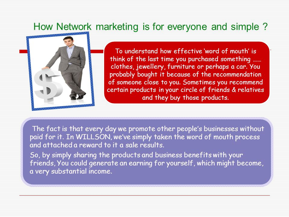 How Network marketing is for everyone and simple