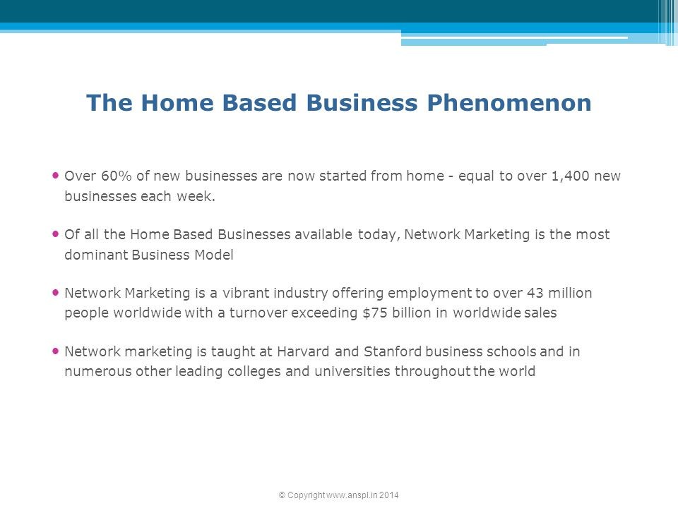 The Home Based Business Phenomenon