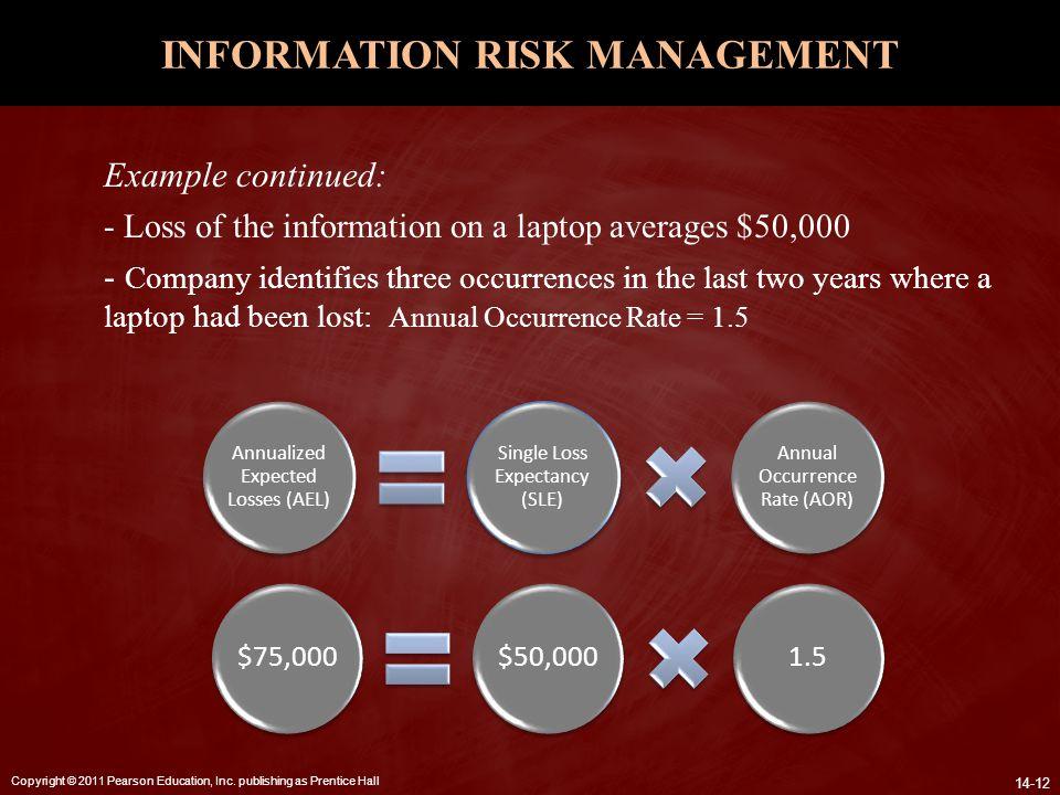 INFORMATION RISK MANAGEMENT
