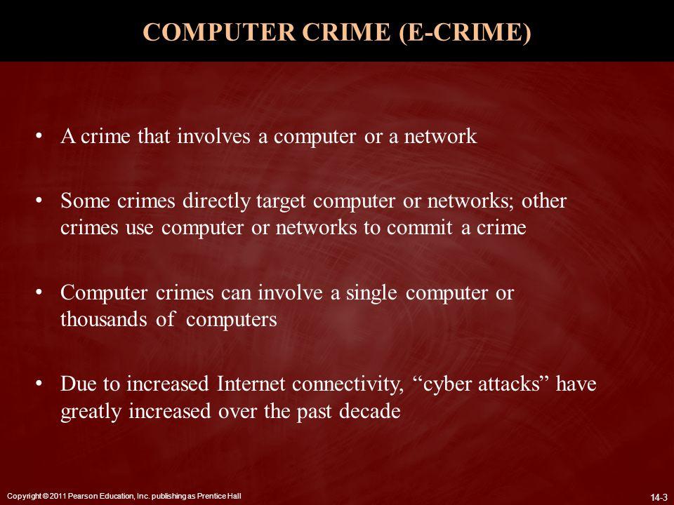 COMPUTER CRIME (E-CRIME)