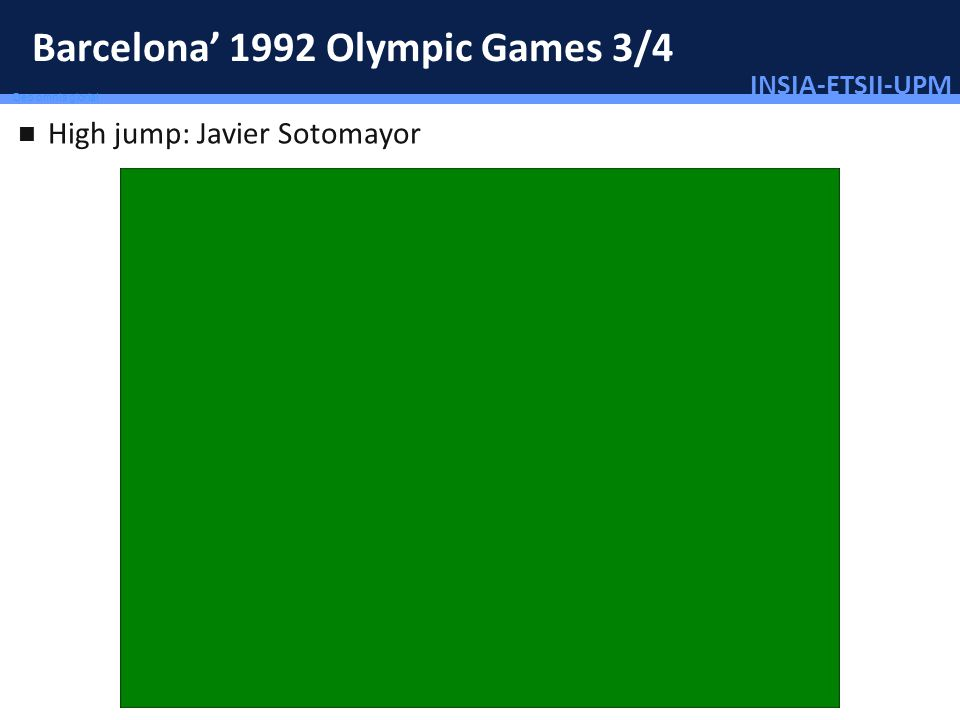 Barcelona' 1992 Olympic Games 3/4