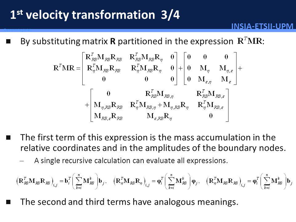 1st velocity transformation 3/4